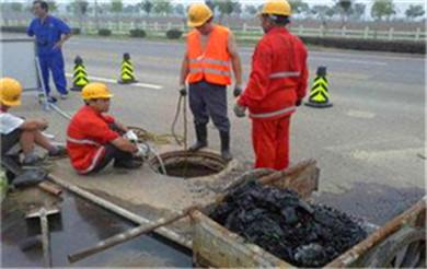 井陉高压清洗疏通管道-清理化粪池-化油池-污水泥池清淤